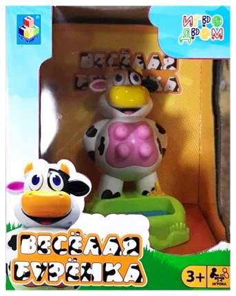 Настольная игра 1 Toy Игродром Весёлая бурёнка