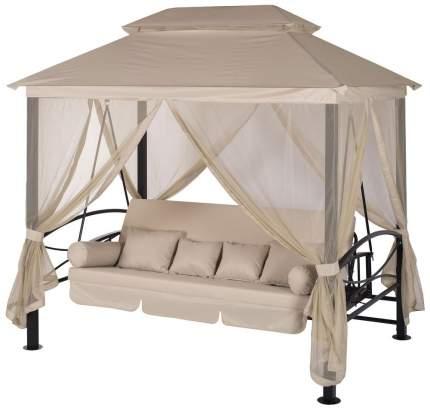 Качели садовые Удачная мебель Пальмира бежевый A 31 BL,328