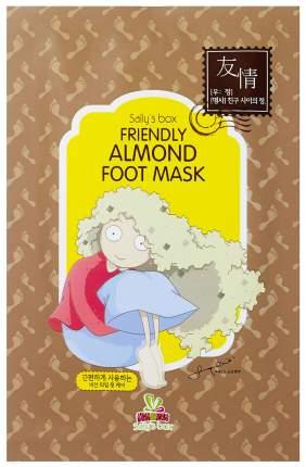 Маска для ног Sally's Box Friendly Almond Foot Mask 8 г