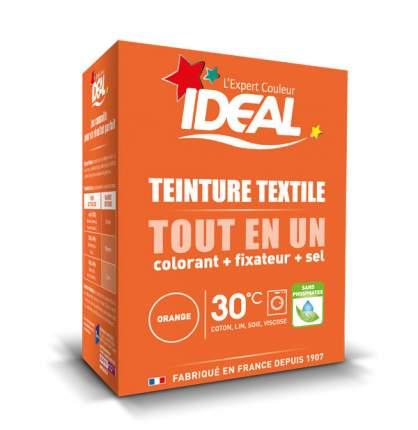 Краска для одежды и тканей Ideal MINI Все в Одном оранжевая, 230 г