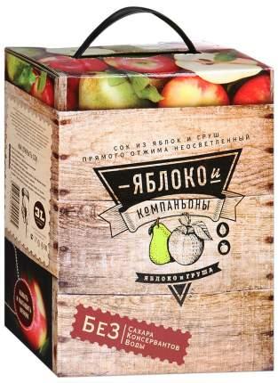 Сок из яблок и груш 3 л
