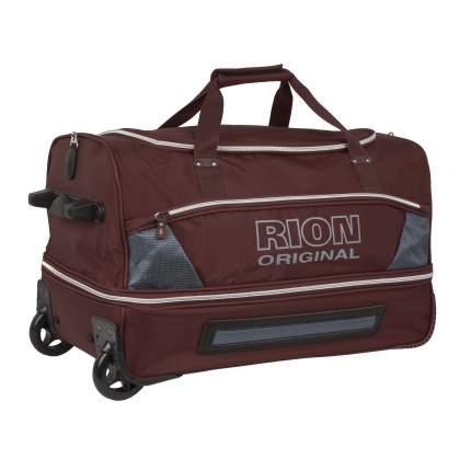 Дорожная сумка Rion А145 коричневая 62 x 37 x 34