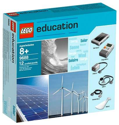 Дополнительный набор LEGO Education Возобновляемые источники энергии 9688