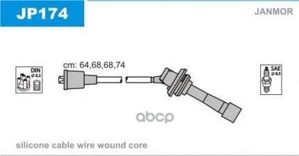 Комплект проводов зажигания JANMOR JP174