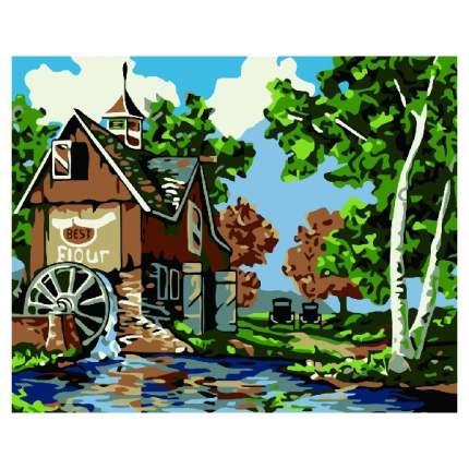 Картина по номерам Color Kit Старая мельница