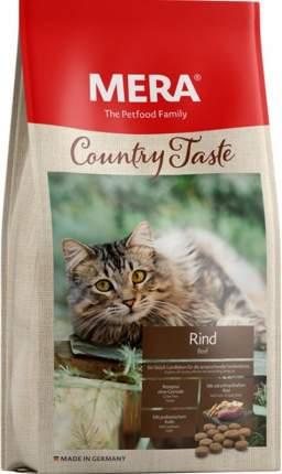 Сухой корм для кошек MERA Country Taste Rind, говядина, 0,4кг