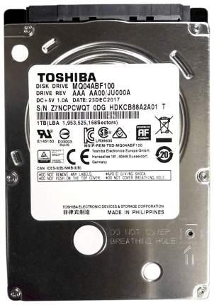 Внутренний жесткий диск Toshiba 1TB (MQ04ABF100)