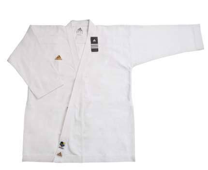 Кимоно Adidas Champion European Cut WKF, white, 195