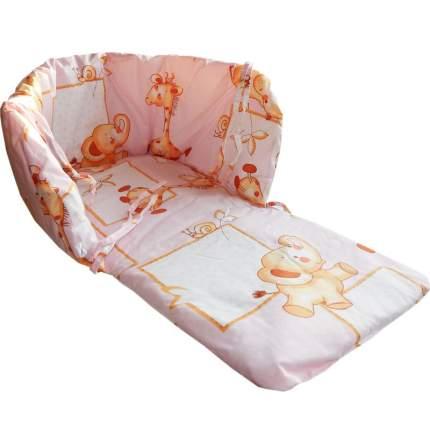 Матрас для санок Папитто Розовый 1173