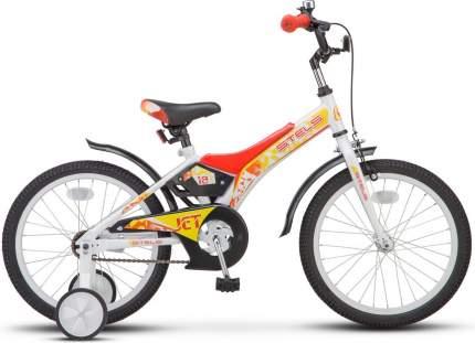 Велосипед Stels Jet 18 2018 One Size бело-красный