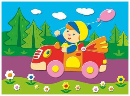 Поделка Дрофа-Медиа Мягкая картинка Я - автогонщик