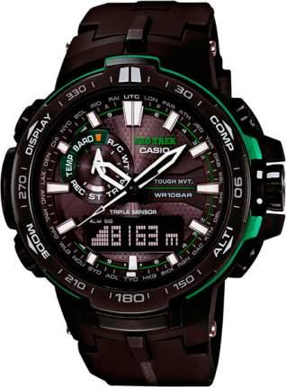 Наручные часы кварцевые мужские Casio Pro Trek PRW-6000Y-1A