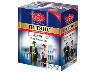 Чай черный в пакетиках для чашки Ти Тэнг Businessman 100*2.5 г