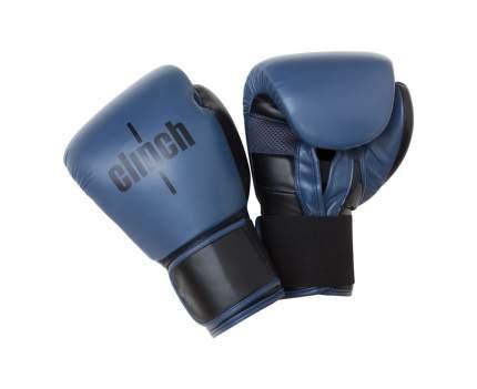 Боксерские перчатки Clinch Punch синие 16 унций