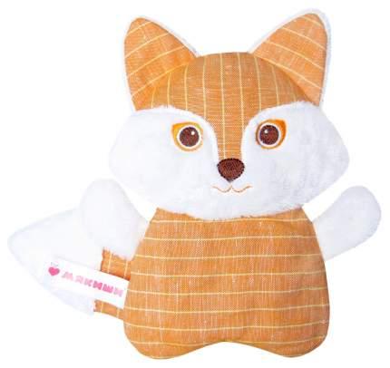 Мягкая игрушка-антистресс МЯКИШИ РазоГРЕЛКА Лиса с вишневыми косточками 352
