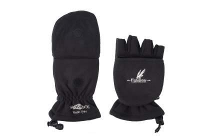 Перчатки-варежки мужские Mikado UMR-08B, черные, M