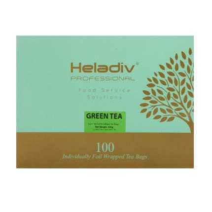 Чай в пакетиках Heladiv professional line green 100 пакетиков в саше