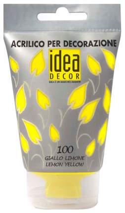 Акриловая краска Maimeri Idea Decor лимонный M3818100 110 мл