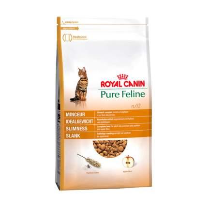 Сухой корм для кошек ROYAL CANIN Pure Feline Slimness, для поддержания веса, птица, 0,3кг