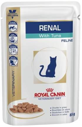 Влажный корм для кошек ROYAL CANIN Vet Diet Renal, тунец, 85г