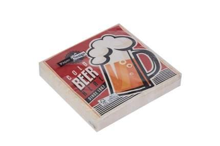 Салфетки трёхслойные Hoff Холодное пиво
