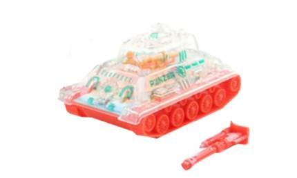 Инерционный танк-штурмовик с прозрачным корпусом (свет)