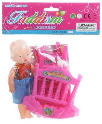Игровой набор Faddism «Пупс с кроваткой» 92336-17