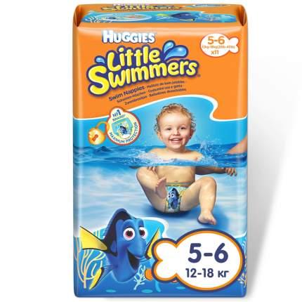 Подгузники Huggies Huggies Little Swimmers (12-18 кг), 11 шт.