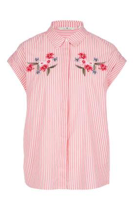 Блуза женская TOM TAILOR розовая 44