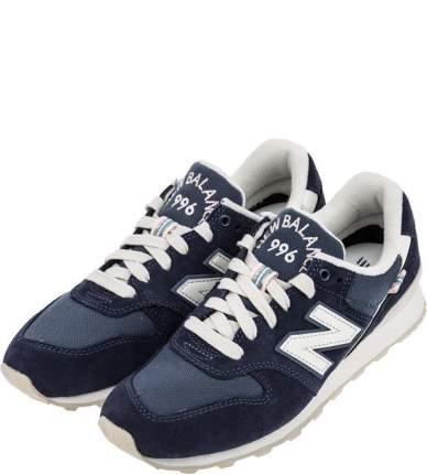 Женские кроссовки New Balance WR996YA/D синие/белые 35.5