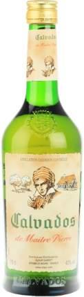 Кальвадос Calvados de Maitre Pierre AOC 0.7 л