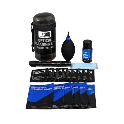 Набор для чистки оптики FST TravelKit-01 Grey
