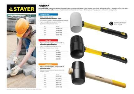 Резиновая киянка Stayer 20533-450