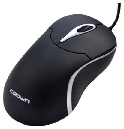 Проводная мышка Crown CMM-016 Silver/Black