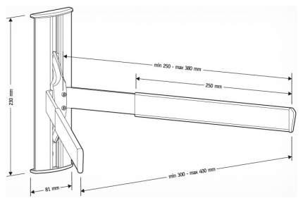 Полка для DVD-плеера Holder DRS-3103