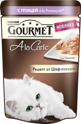 Влажный корм для кошек Gourmet A la Carte, домашняя птица, овощи, 24шт, 85г