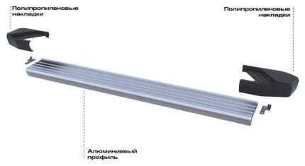 Порог-площадка RIVAL для Hyundai (F173AL.2310.1)
