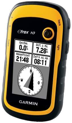 Туристический навигатор Garmin eTrex 10 черный