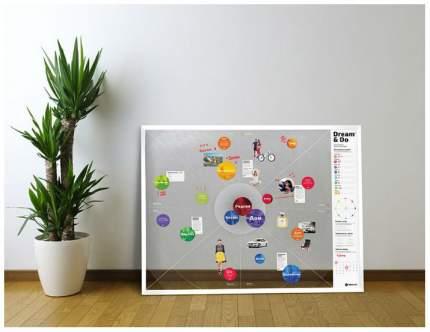 Карта желаний 1DEA.me Gifts Dream&Do 18