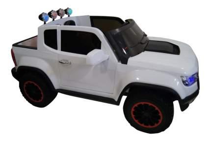 Электромобиль Chevrole белый RIVERTOYS