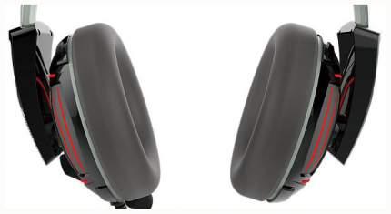 Игровые наушники Gamdias Hephaestus P1 Grey/Black