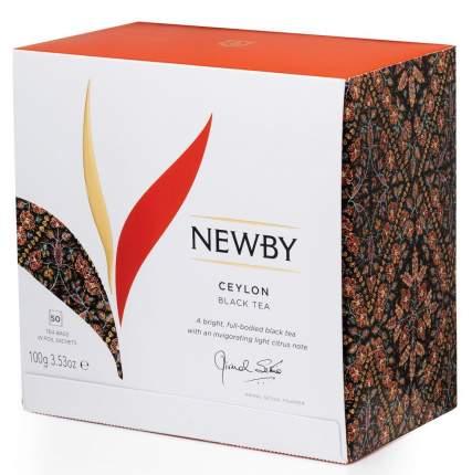 Чай черный Newby ceylon 50 пакетиков
