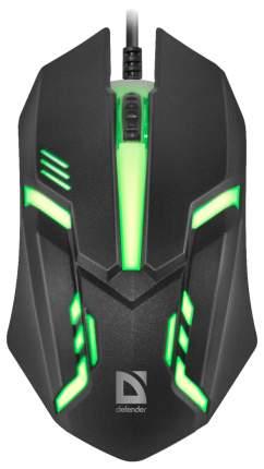 Проводная мышка Defender Cyber MB-560L Black (52560)