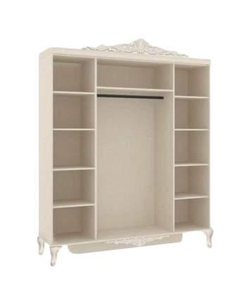 Платяной шкаф Любимый Дом LD_51765 184х59х220, алебастр/фиолетовый