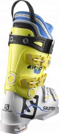Горнолыжные ботинки Salomon X Lab+ 110 2018, white/yellow, 25.5