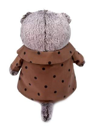 Мягкая игрушка BUDI BASA Басик в костюме с бантом, 19 см