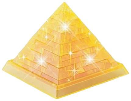 """Кристальный 3D-пазл """"Пирамида"""" (свет), 38 элементов Тайны граней"""