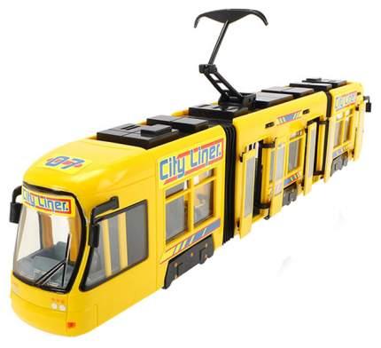 Городской трамвай City Liner, желтый, 46 см Dickie Toys