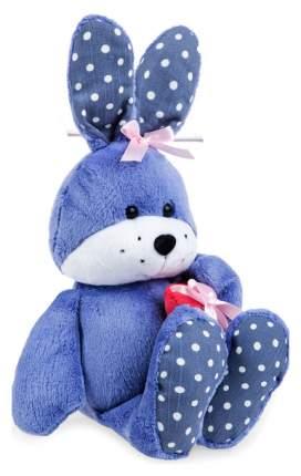 Мягкая игрушка животное Левеня Зайчик Сёма 3336662 Синий