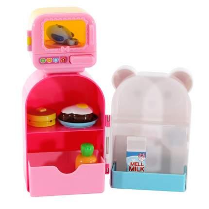 Игровой набор Kawaii Mell Холодильник с микроволновкой